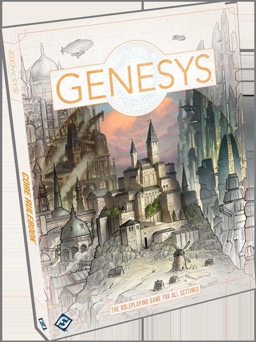 Genesys Web Dice Roller